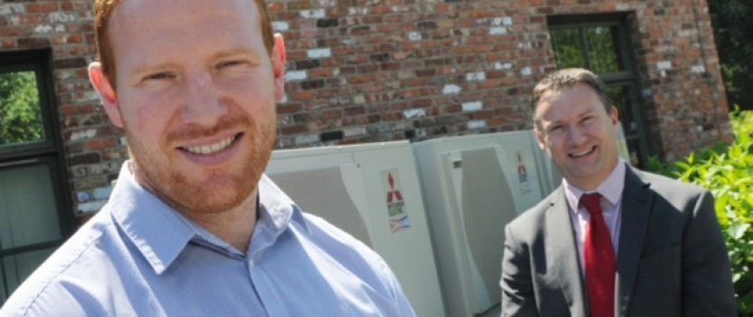 Helping keep local firm's super-green building on track