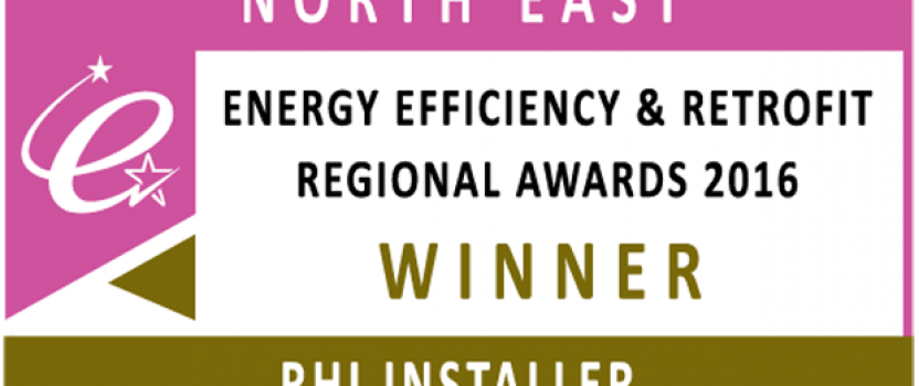 North East RHI Installer of the Year 2016