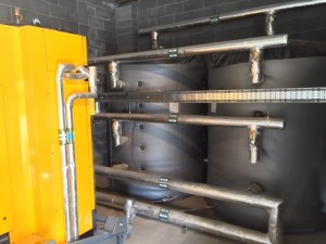 Biomass Boiler Installation 1
