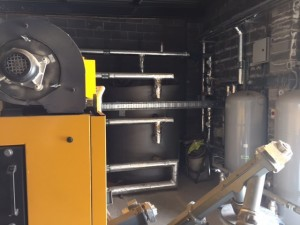 Biomass Boiler Installation 3